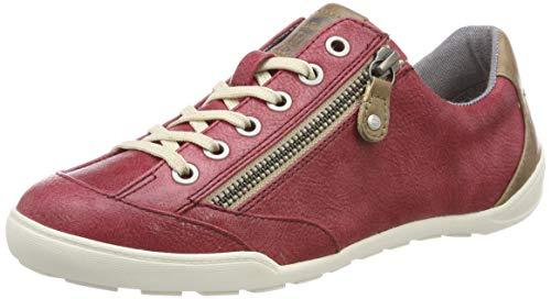 Mustang Damen 1314-304-55 Sneaker Rot (Bordeaux 55) 42 EU