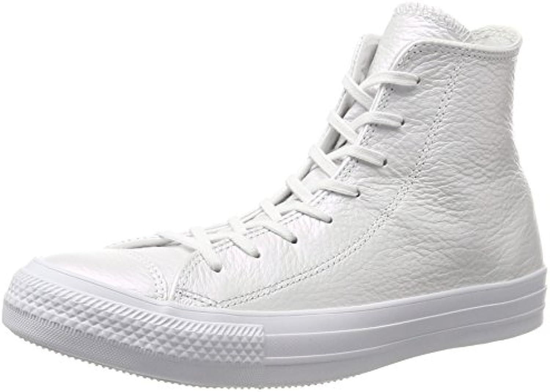 Converse Ctas Hi bianca, scarpe da da da ginnastica a Collo Alto Unisex – Adulto | Consegna ragionevole e consegna puntuale  0dfc33