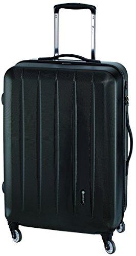 Koffer Trolley Reisekoffer Hartschale schwarz TSA Koffer absolutes Leichtgewicht 2,5 kg 58 Liter 65x45x26cm Hartschalenkoffer tolle Ausführung