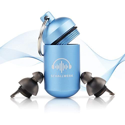 SCHALLWERK ® Sleep+ - Gehörschutz Ohrstöpsel Zum Schlafen - Dämpft Lärm & Schnarchen - Ideal Für Ruhigen Schlaf Und Gegen Schnarchen
