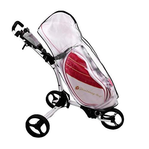 VGEBY1 Golfbag Staubschutzhülle, transparenter Golfbagmantel Staubdichte Regenschutzhülle