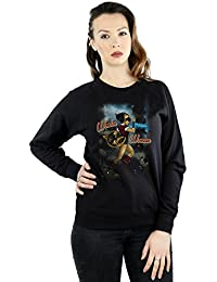 DC Comics Women's Wonder Woman Bombshell Cover Sweatshirt