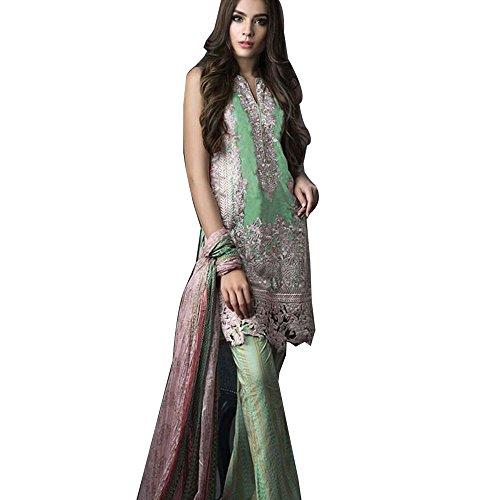 New Bollywood Traditional Salwar Kameez Anarkali Indian Pakistani Ethnic Dress For Girls...