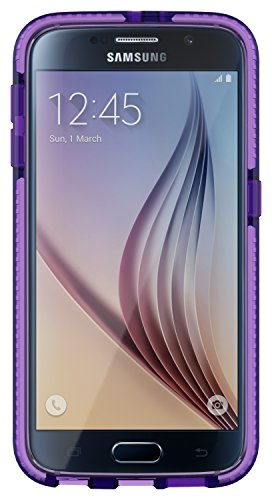 Tech21 Evo Mesh 4 Cover Black - mobile phone cases viola