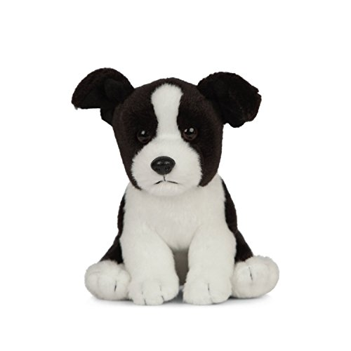 Living Nature Soft Toy - Stofftier Border Collie Welpe (16cm) -