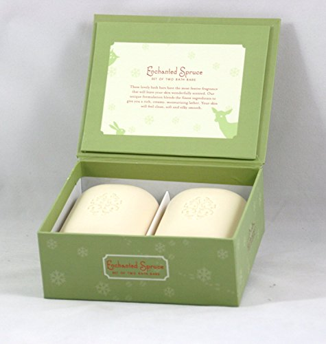 san-francisco-soap-company-set-of-2-8-oz-bath-bar-soaps-gift-set-w-pop-up-holiday-forest-greeting-ca