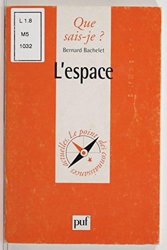 En ligne téléchargement gratuit L'Espace pdf