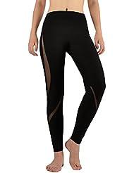 VB Mouvement Yoga pantalon serré élastique taille haute perméabilité neuf points
