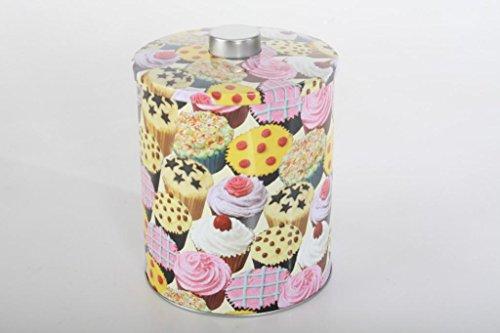 AVENUELAFAYETTE Boîte métal décor Cupcakes
