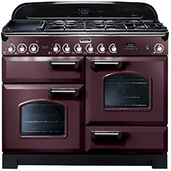 falcon rangecooker classic deluxe 110 tiefrot chrom. Black Bedroom Furniture Sets. Home Design Ideas