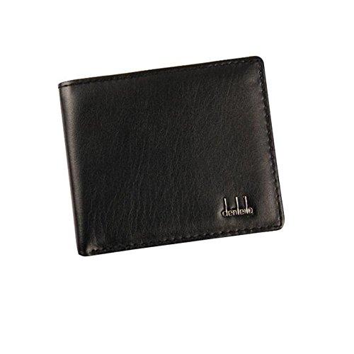 Angelof Hommes Cuir Bifold Wallet Id Carte De CréDit Porte Sac à Main Poches