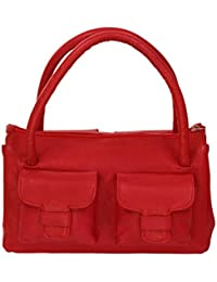 Stylogy Satchel (Red) (bag-sat08-00003-a)