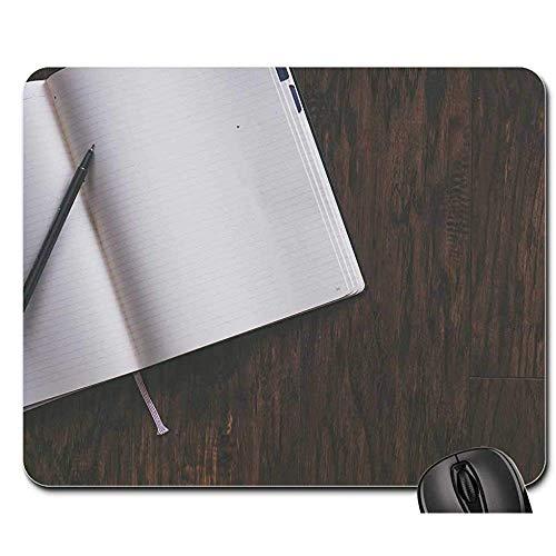 Mauspad Hintergrund Leere Buchbindungen Brainstorming Mauspad Mousepad Mauspad Mauspads Gaming Mat 25X30cm