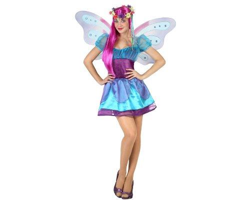 Preisvergleich Produktbild Atosa 23042 - Winterfee Kostüm, Größe XS-S, hell-/blau