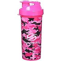 SmartShake Lite Camo Shaker Cup, 1 Litre, Pink