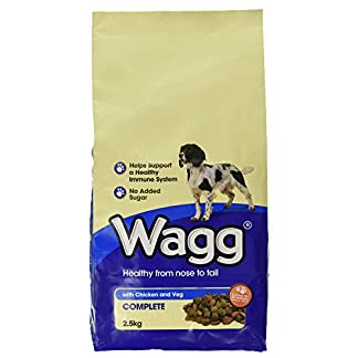 Wagg Complete Dog Food with Chicken and Vegetables, 2.5kg 14