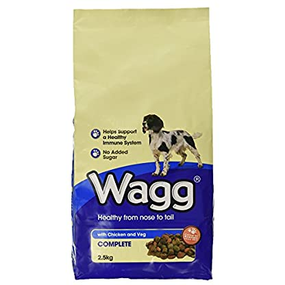 Wagg Complete Dog Food with Chicken and Vegetables, 2.5kg 1