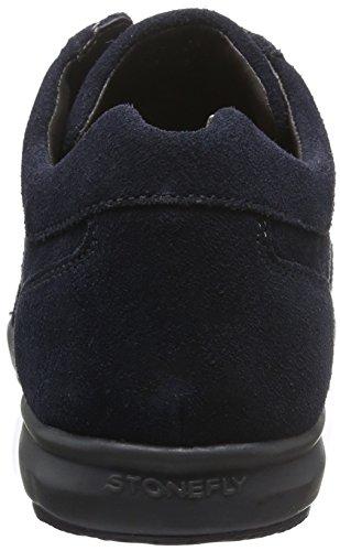 Stonefly Lucky 10, Sneakers Homme Bleu (Blu/Navy 100)