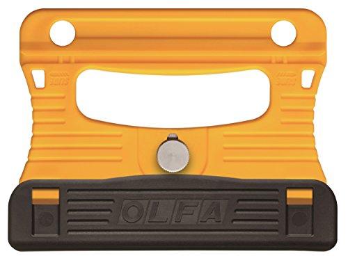 Olfa gsr-1/3B/890601/01604-m Professional Schaber mit Edelstahl Klinge-Gelb/Schwarz