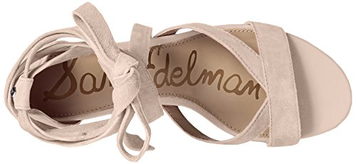 Sam Edelman Womens Sheri Heeled Sandal Putty Suede