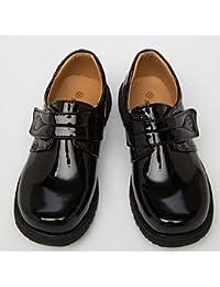 aemember Boys 'zapatos sintética Otoño Invierno comodidad Zapatillas para Casual negro, US12.5 / EU30 / UK11.5 Little Kids, negro