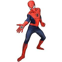 """Morphsuits Spider-Man' - Disfaz Oficial, color Azul/Rojo, talla L/5'4""""-5'10"""" (161-177 cm)"""