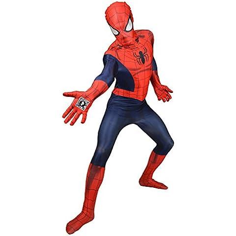 Morphsuits - Disfraz de morphsuits spiderman infantil, talla L (MLZSPL)
