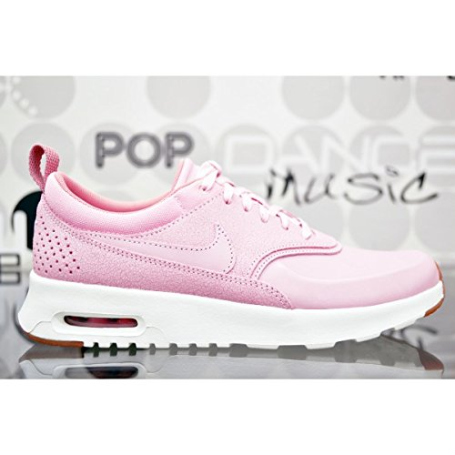 Nike Wmns Air Max Thea Prm, Sneakers Basses Femme, Rose (Pearl Pink/Pearl Pink/Sail), 39 EU