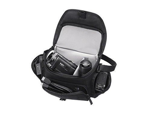 Sony LCSU21B.SYH - Bolsa de transporte para cámara/videocámara, color negro