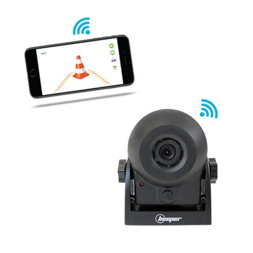 Rückfahr- und Überwachungskamera, WiFi, H1WIFI Beeper - Pferd Anhänger-Überwachung