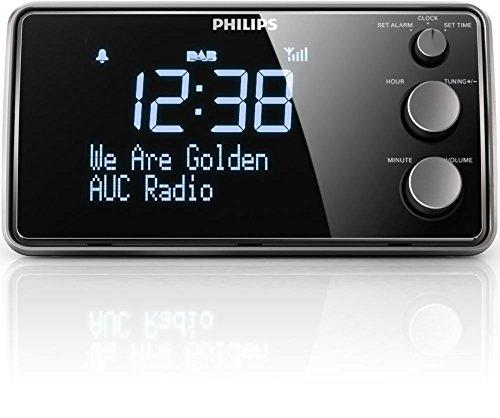 Philips AJB3552/12 Radiowecker (LCD-Display, DAB+/Digitalradio, Sleeptimer, Gentle Wake, DBB, FM digital tuning) (schwarz) - 4