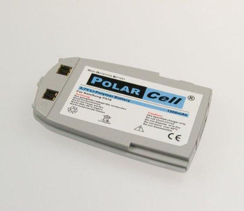 NFE² Edition Polarcell Lithium-Polymer Akku - 1200mAh - für Samsung SGH-P510 silber