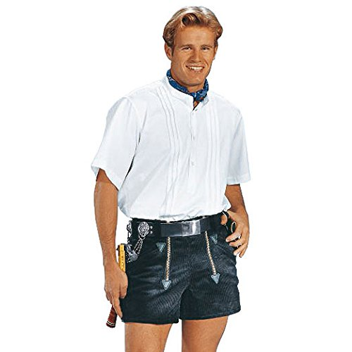 Western-cord-hose (KRÄHE Robusta Zunft-Shorts schwarz | 46)