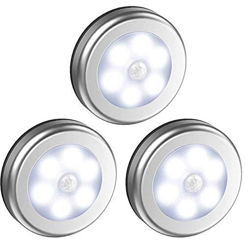YAMEIJIA Smart-Home-Nachtlicht des Menschlichen Körpers Der Induktionslampe 6LED Rundes