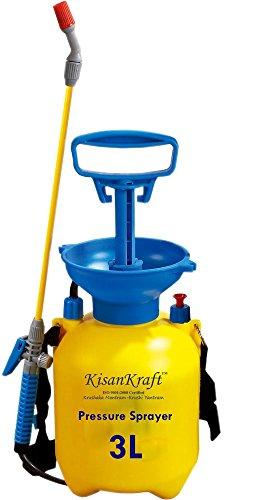 Kisan Kraft KK-PS3000 3-Litre Plastic Manual Sprayer (Yellow)