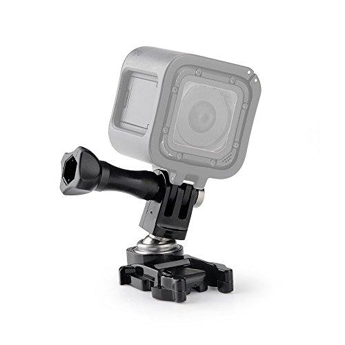 Preisvergleich Produktbild Lightwish - Drehbare für GoPro Hero4 Silber Schwarz Hero 4 3 + 3 2 Session