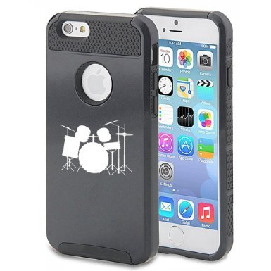 apple-iphone-6-6s-shockproof-impact-hard-case-cover-drum-set-black