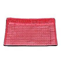 RajasthaniKart Quilted Satin Lingerie Cover / Undergarments Kit / Multipurpose Kit (Pink)