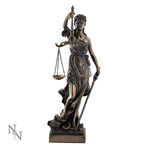 Nemesis Now La Justicia Griechisch römischen Mythologie Göttin der Divine Justice groß Figur–33cm