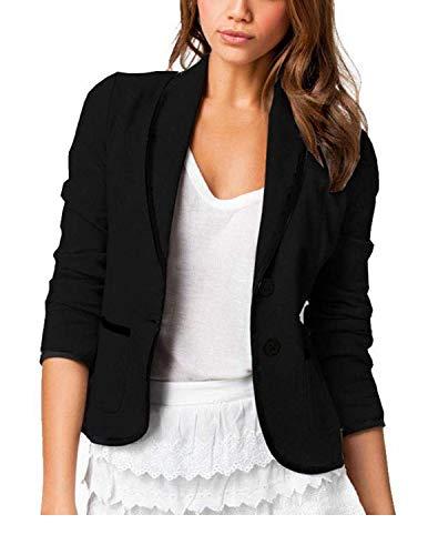 YIPIN Blazer Mujer Chaqueta de Traje Americanas Elegante OL Casual Otoño Slim Fit Oficina Negocios...