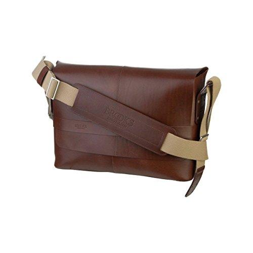 Brooks Barbican Leather Sacoche Brun M