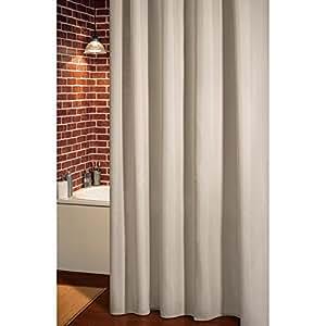 rideau de douche intense beige cuisine maison. Black Bedroom Furniture Sets. Home Design Ideas