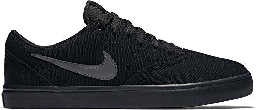 Nike Damen Sb Check Solar Cnvs Skaterschuhe Black (Black (schwarz / anthrazit))