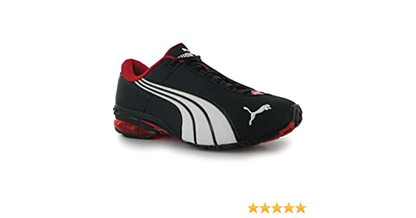 17dab8855b5 Puma Jago Nylon Mens Trainers Black Red 10 UK UK  Amazon.co.uk  Shoes   Bags