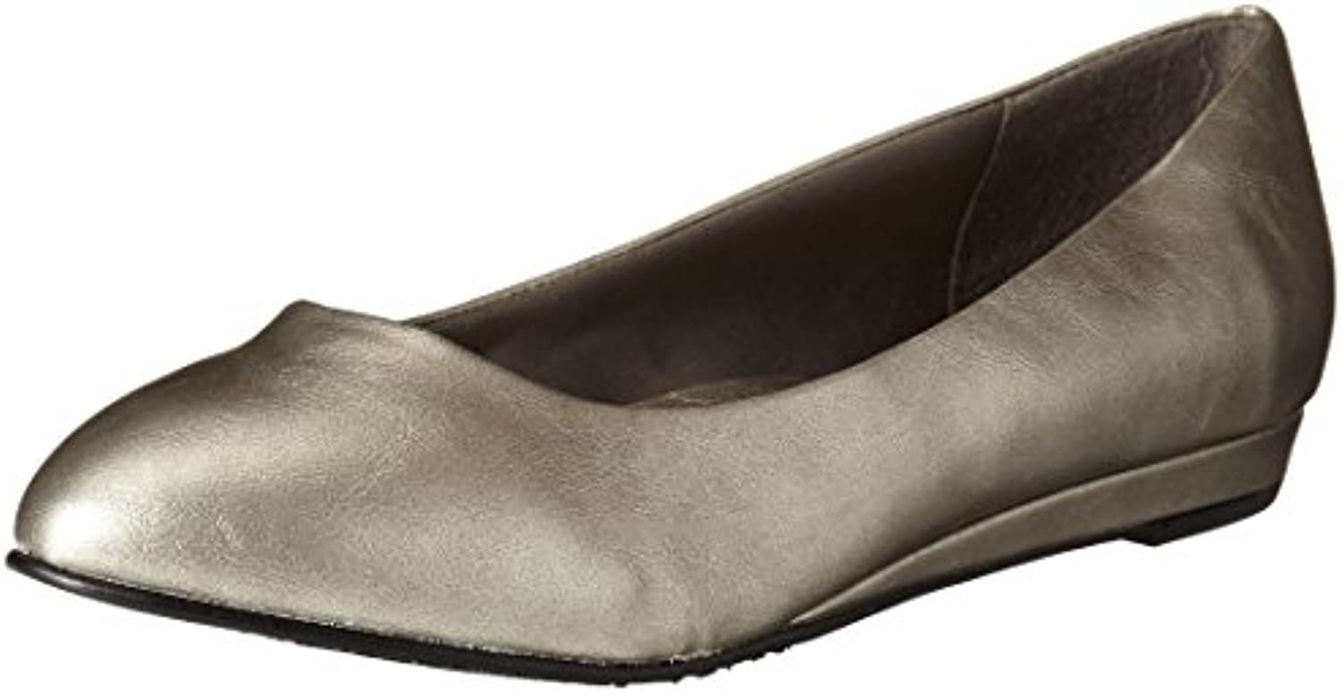 Hush Puppies Mujeres Darlene Flat, Dark Pewter, 7.5 N US