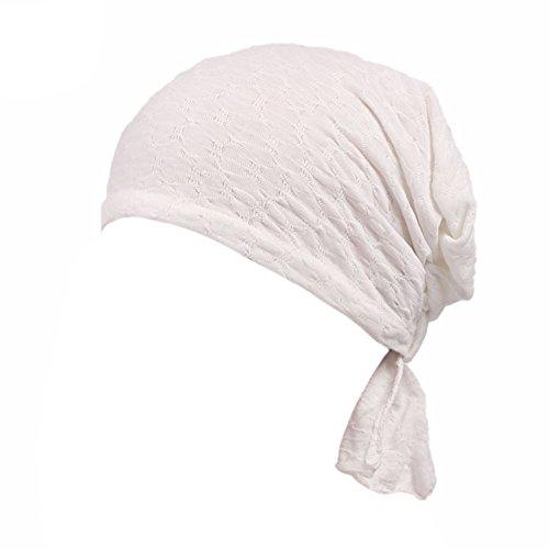 iShine Frauen Kopftuch Elastische Hut Turban Elegante Frauen Stirnband Mädchen Hut Muslim Hut Verlust Haar Geschenk Chinio Krebs (Baby Kostüm Biker)