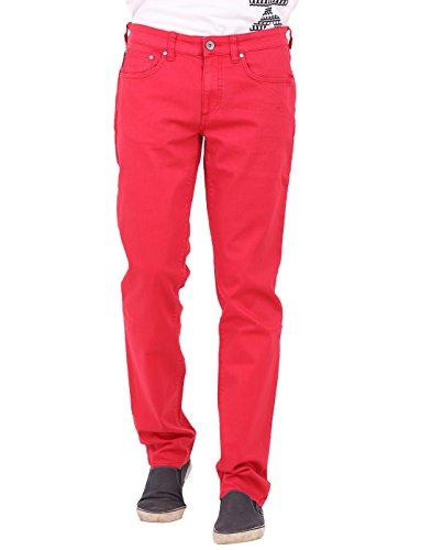Calvin Klein Mens Red Jeans
