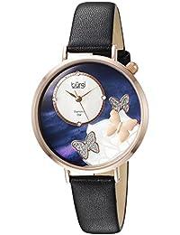 Bürgi BUR158BKR - Reloj de cuarzo para mujeres, color negro