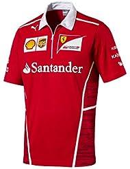 Ferrari Kids equipo Polo camisa, Rosso Corsa
