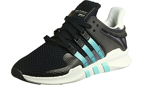 Adidas Damen Equipment Support Adv Sneaker Low Hals, Schwarz (Core Black/Clear Aqua/Granite), 40 EU